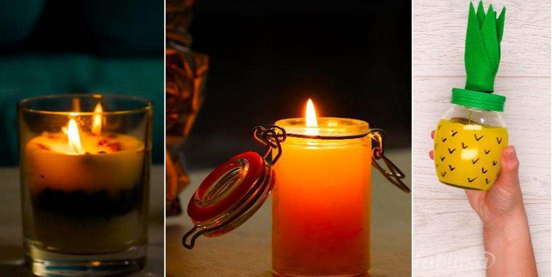 Parfumez vos bougies avec une astuce tellement simple qu'on serait fous de s'en passer!