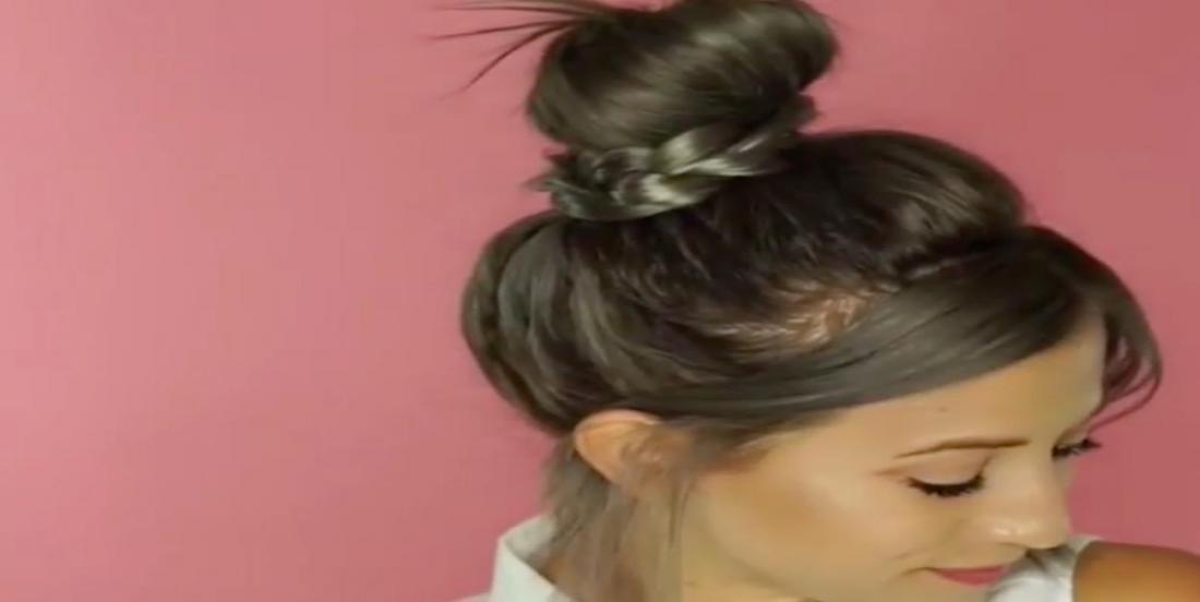 Un tutoriel coiffure qui vous enseigne comment réaliser un chignon nouveau genre
