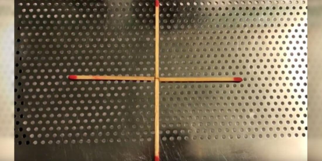 Êtes-vous capable de former un carré en ne déplaçant qu'une seule allumette?