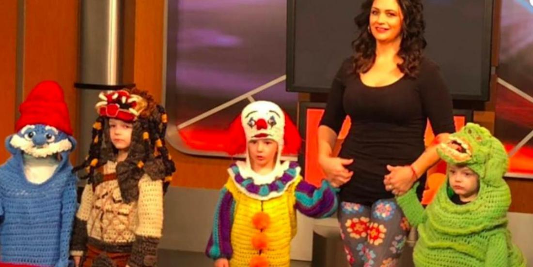 Cette femme réalise des costumes d'Halloween uniques, au crochet!