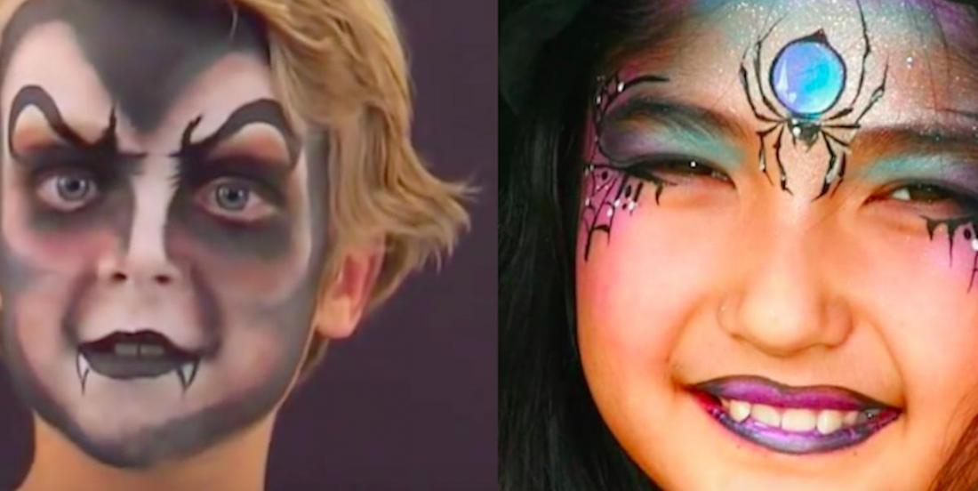 10 idées de maquillages pour Halloween, avec leurs tutoriels en vidéo!
