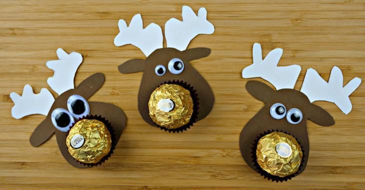 Apprenez à faire un Rudolph avec un chocolat pour l'offrir en cadeau!