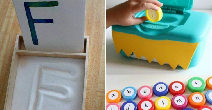 14 activités pour apprendre les lettres de l'alphabet aux enfants tout en s'amusant