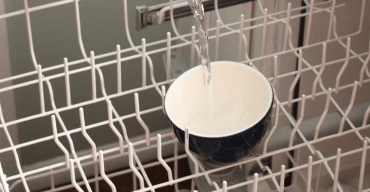 Il nettoie son lave-vaisselle en profondeur et toutes les mauvaises odeurs ont disparu