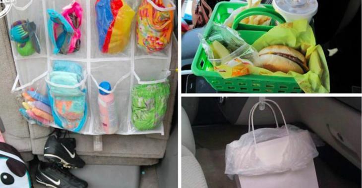 10 façons de garder votre voiture bien organisée et propre