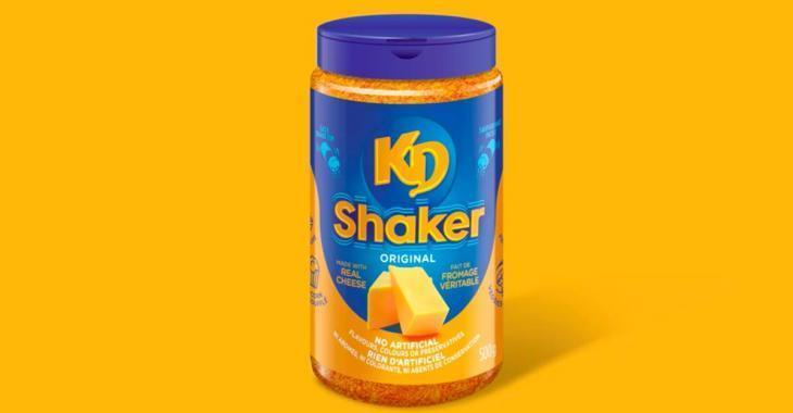 Pour un temps limité, on peut acheter de la poudre de Kraft Dinner en pot!