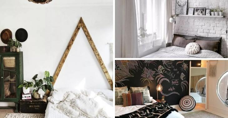 Donnez une allure sophistiquée à votre lit... même sans tête de lit!